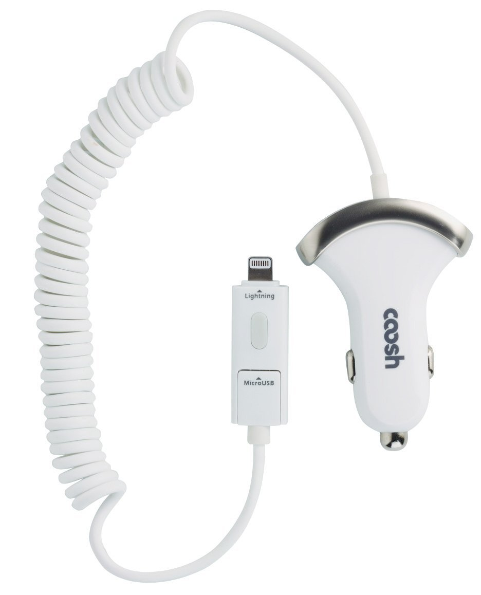 Coosh 2-in-1 Lightning Cable and micro-USB Car Charger Review