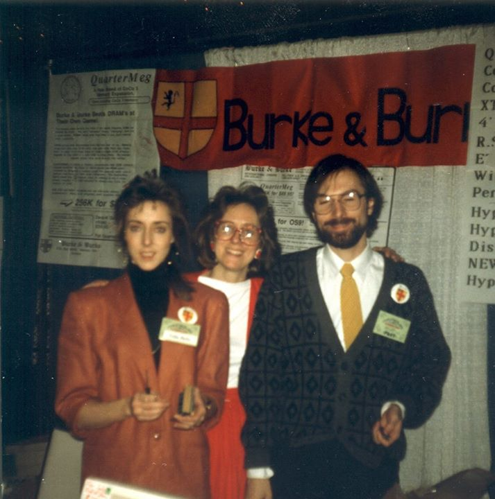 Burke & Burke.  Trisha Burke (left), Stephanie McDaniel (middle), and Chris Burke (right).