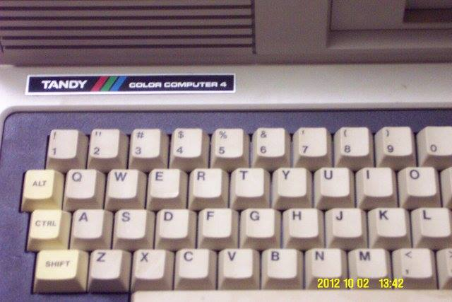 "Boisy: ""Here's the second photo from that email sent to me by John on October 12, 2012. Notice the very clearly defined 'COLOR COMPUTER 4' badge."""