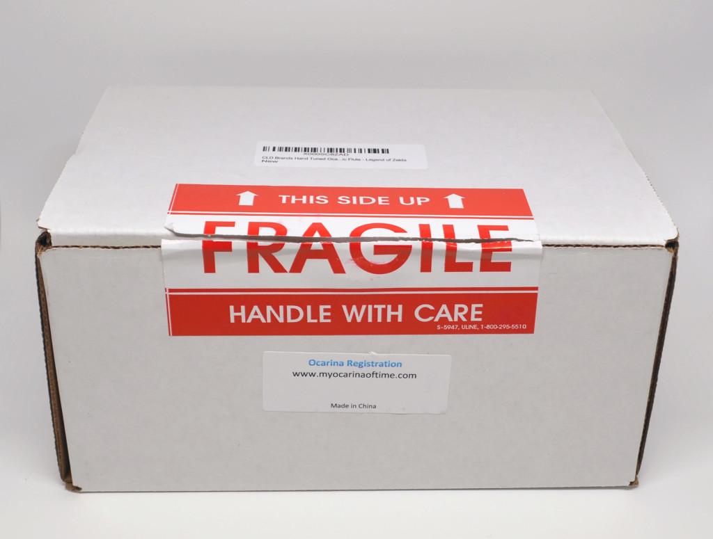 The box the ocarina comes in.
