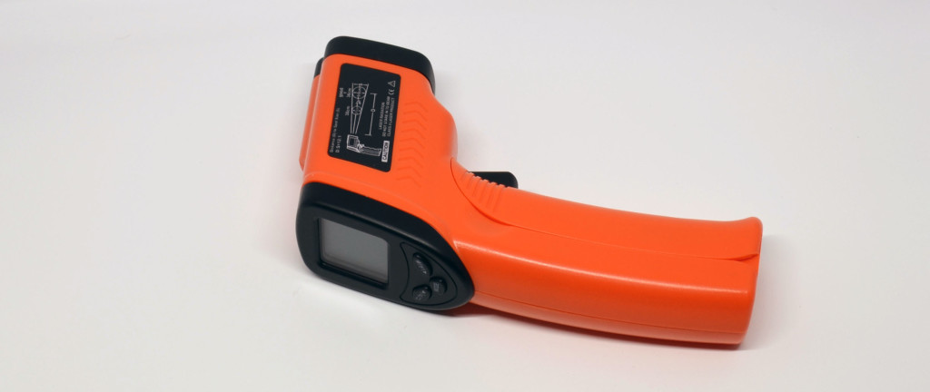 The Nubee Infrared Thermometer.