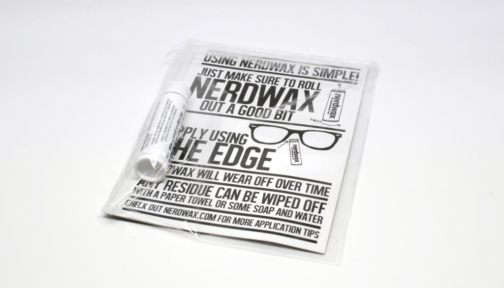 Review: Nerdwax - Wax for slipping eyeglasses