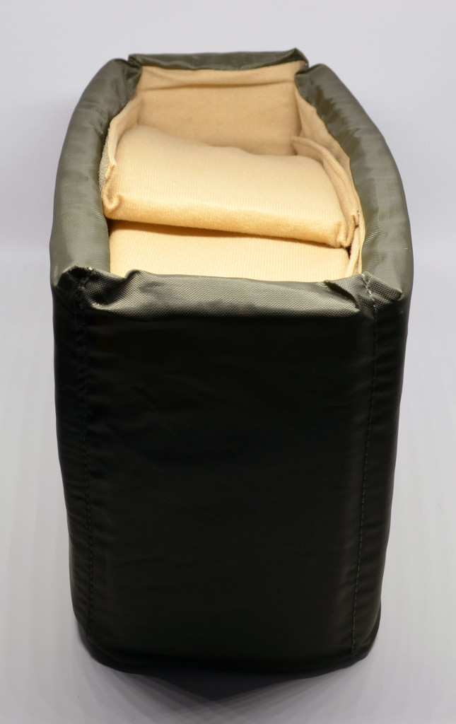 You get it with the bag itself inside its interior protection.