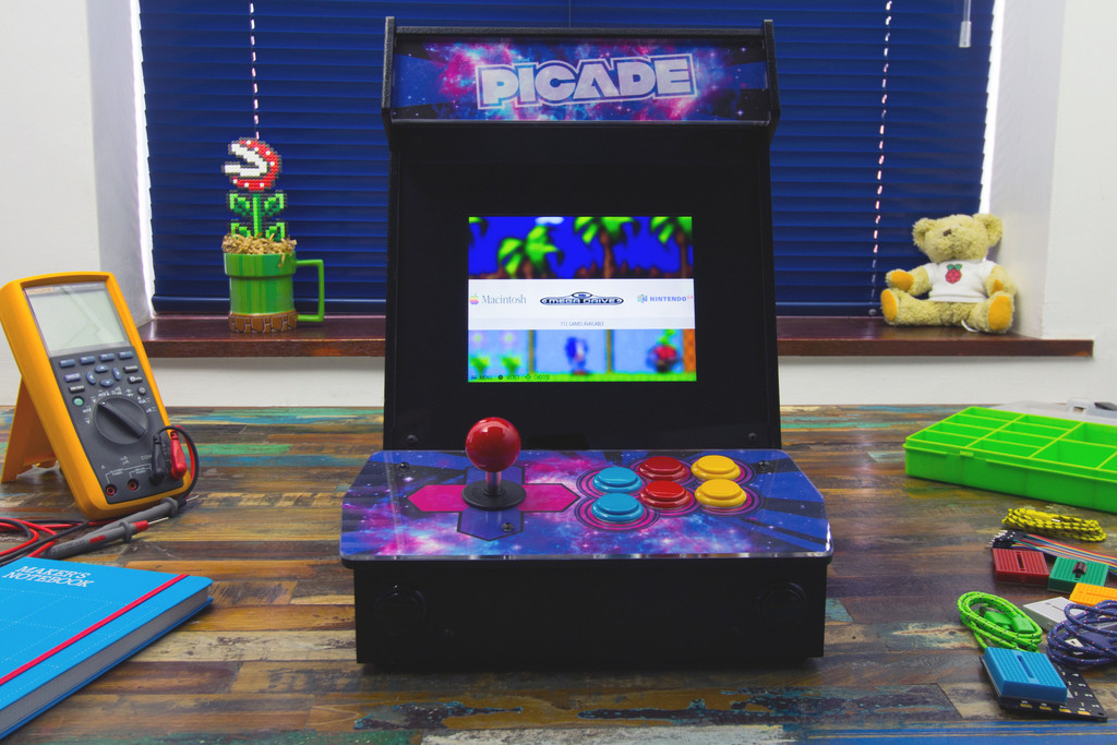 Building the Picade Mini Arcade Cabinet: Part 01