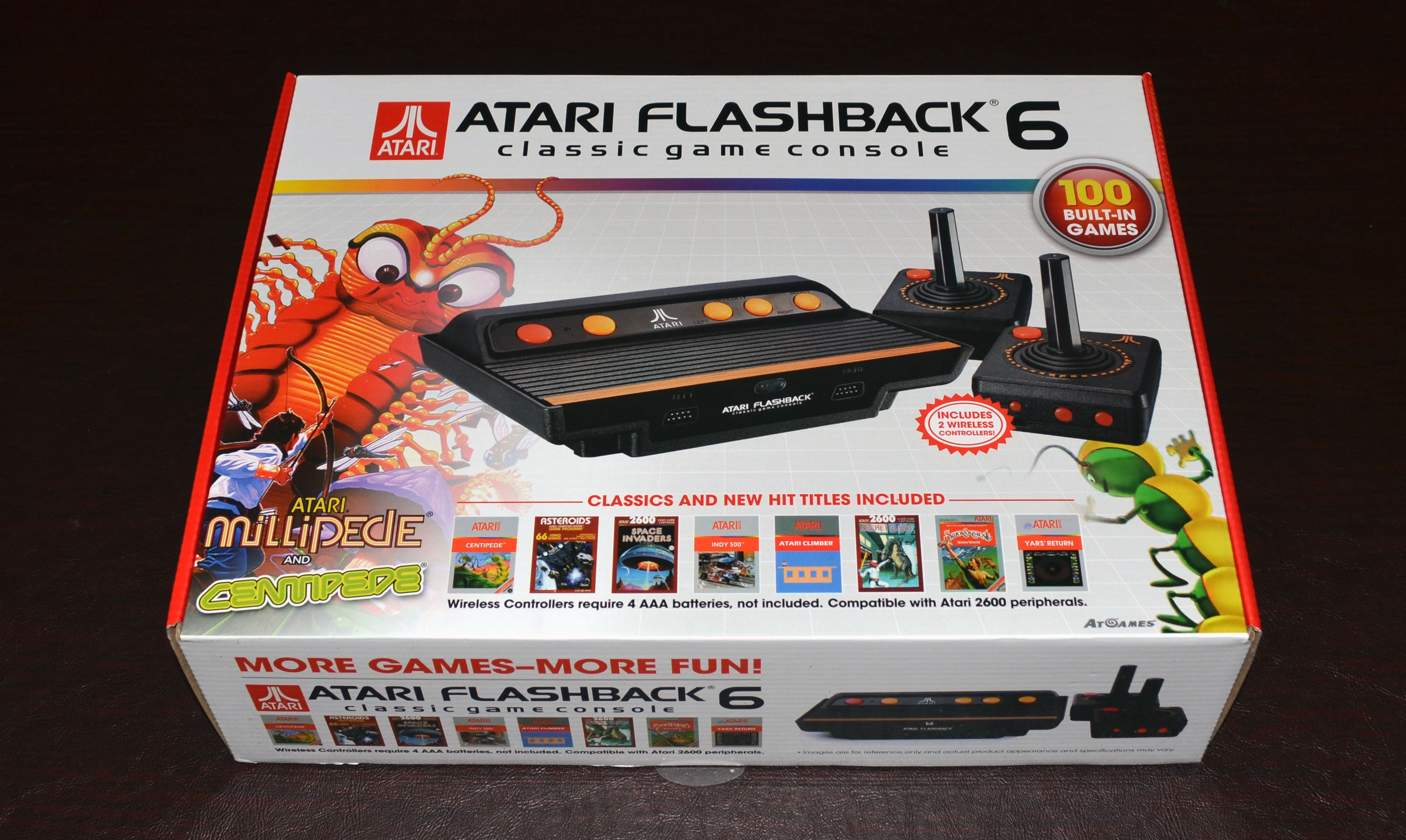 Review atgames atari flashback 6 includes videos - Atgames sega genesis classic game console game list ...