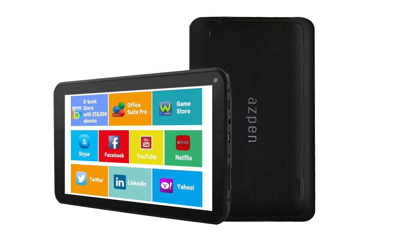 Review: Azpen A746 7 inch Quad Core 8GB Android Tablet