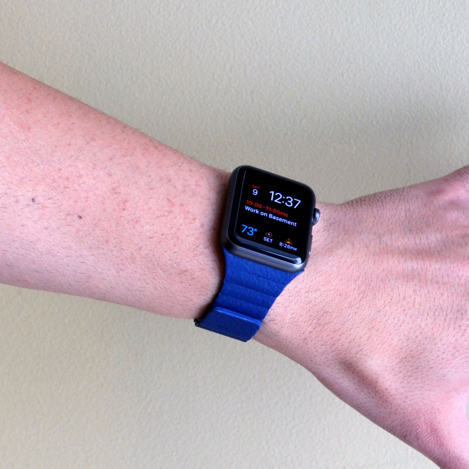 Review: SUNKONG Apple Watch Leather Band