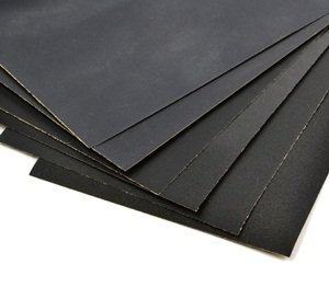 Bluecell Pack of 12 Sandpaper Abrasive Dry/Wet Paper Sheets