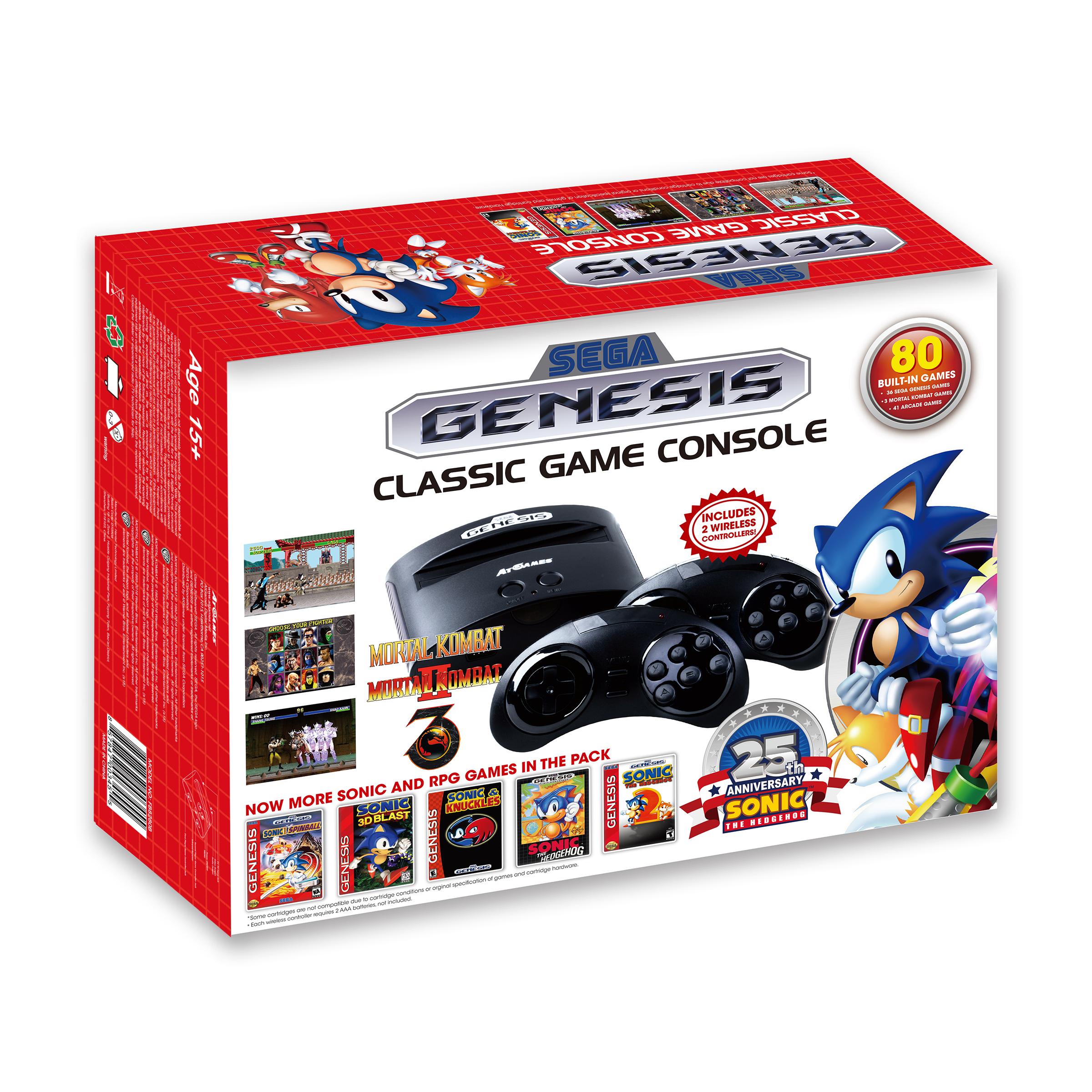 Review Atgames Sega Genesis Classic Game Console 2015