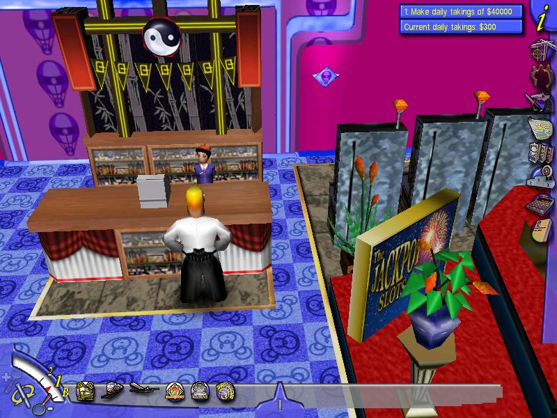 Simulation Games Based on Online Casinos