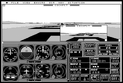Microsoft Flight Simulator 1.02