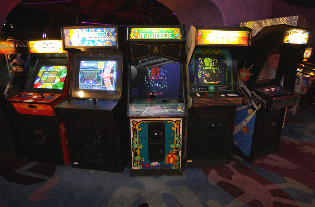 Why Video Game Arcades Are Making A Comeback