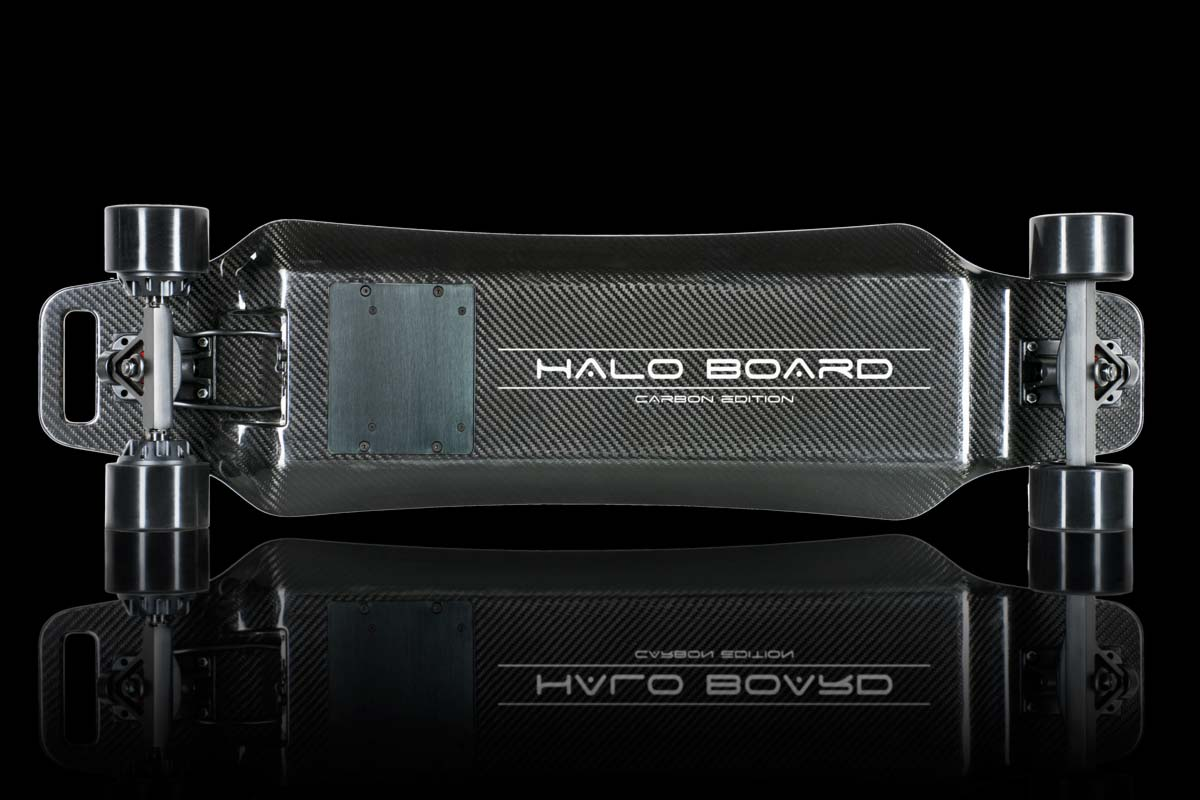 The underside of the Halo Board.