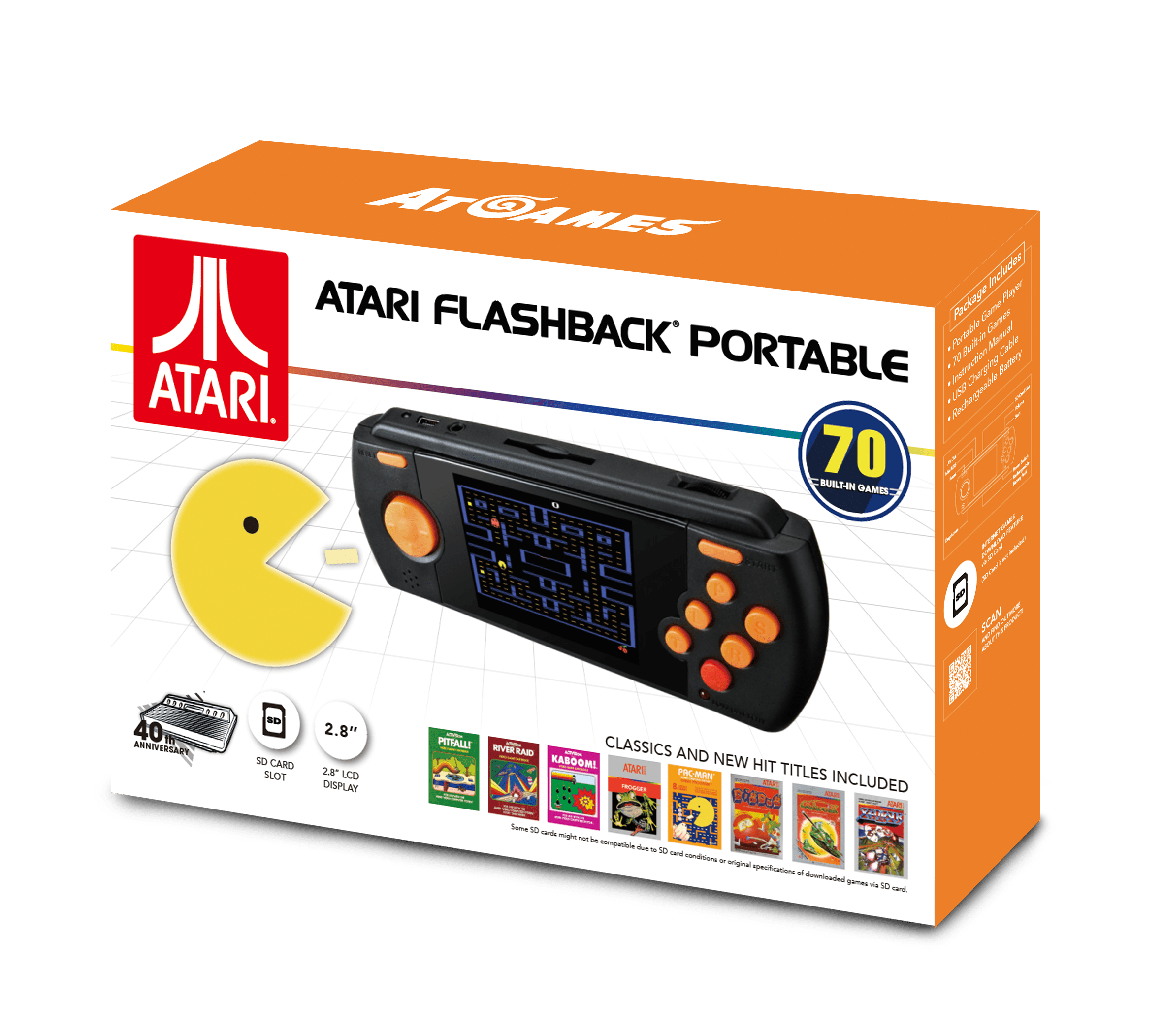 Atari Flashback Portable Game Player (2017): The Official Game List