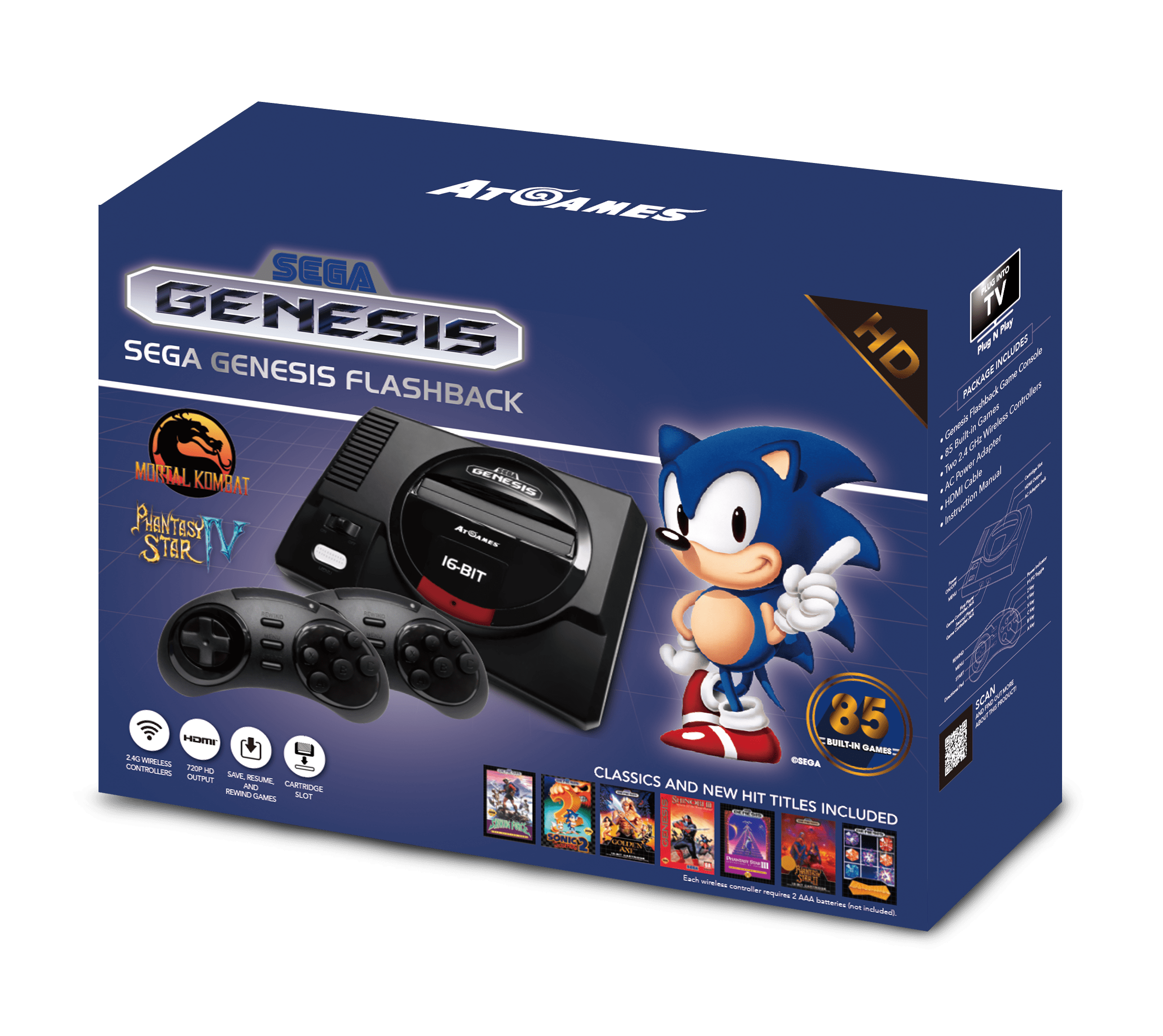 Sega Genesis Flashback (2017): The Official Game List (revised)