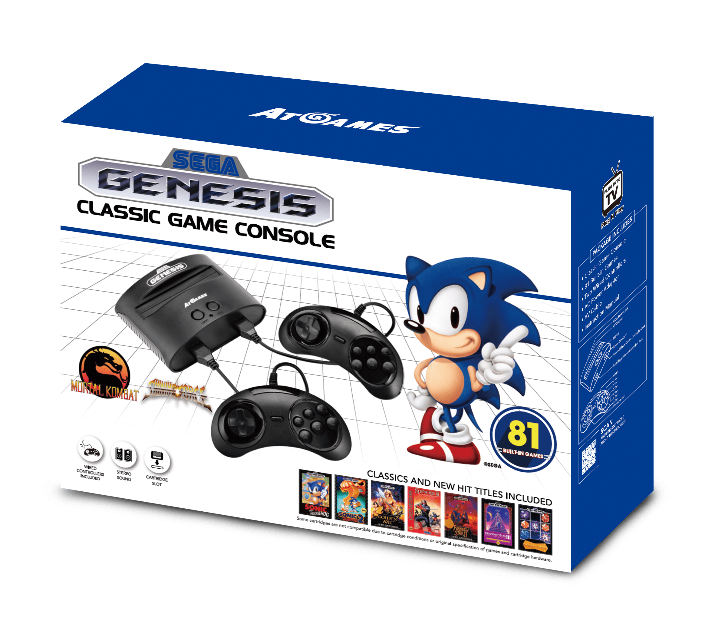 Sega Genesis Classic Game Console (2017): The Official Game List