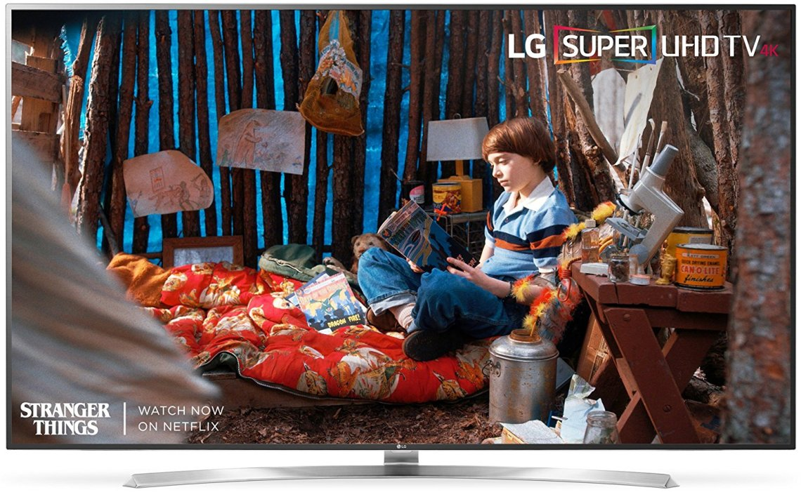 The LG 75SJ8570 supports both HDR and Dolby Vision