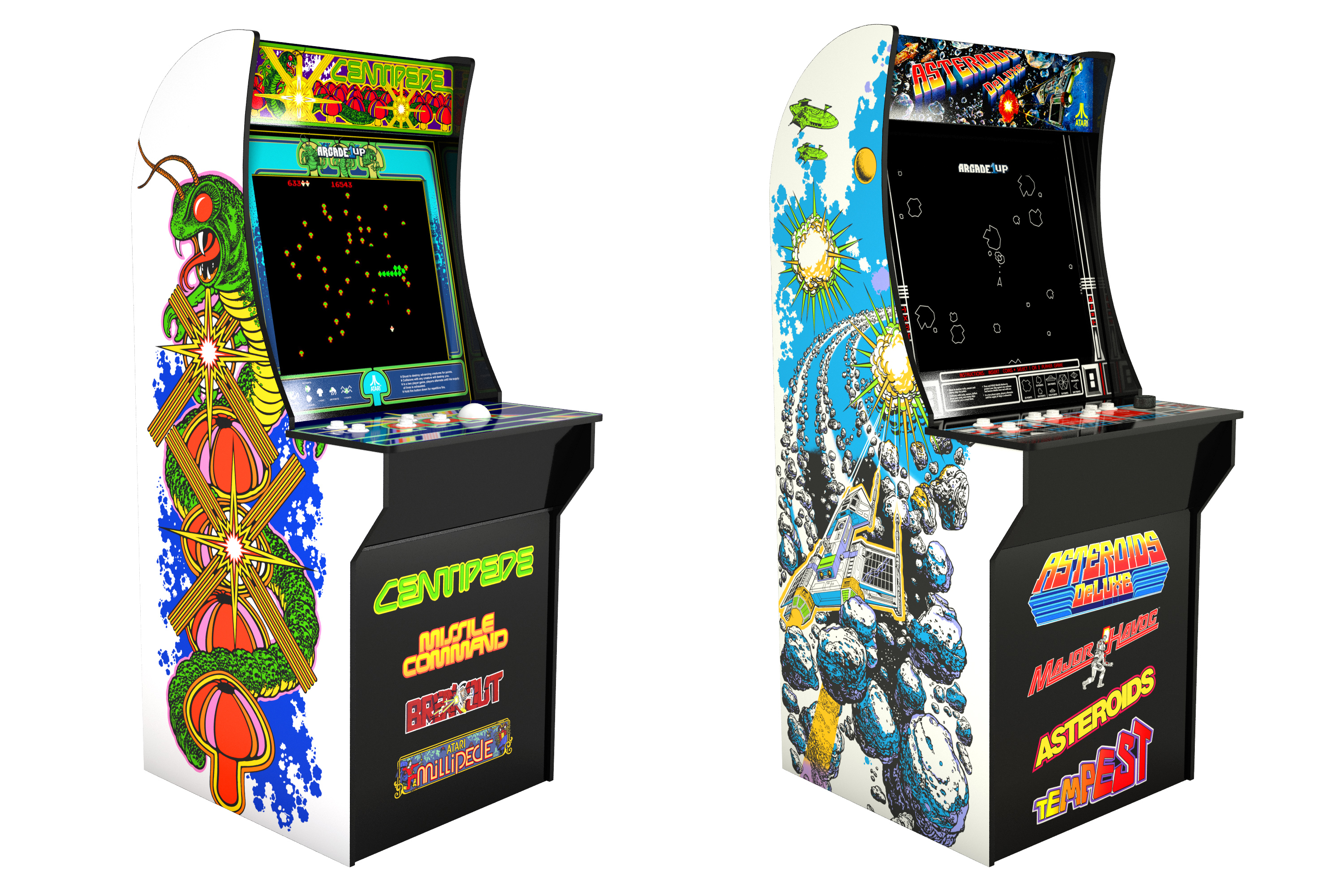 Budget Atari and Capcom arcade cabinets to see release this fall!