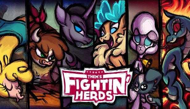 Them's Fightin' Herds is now available in the Humble Store!