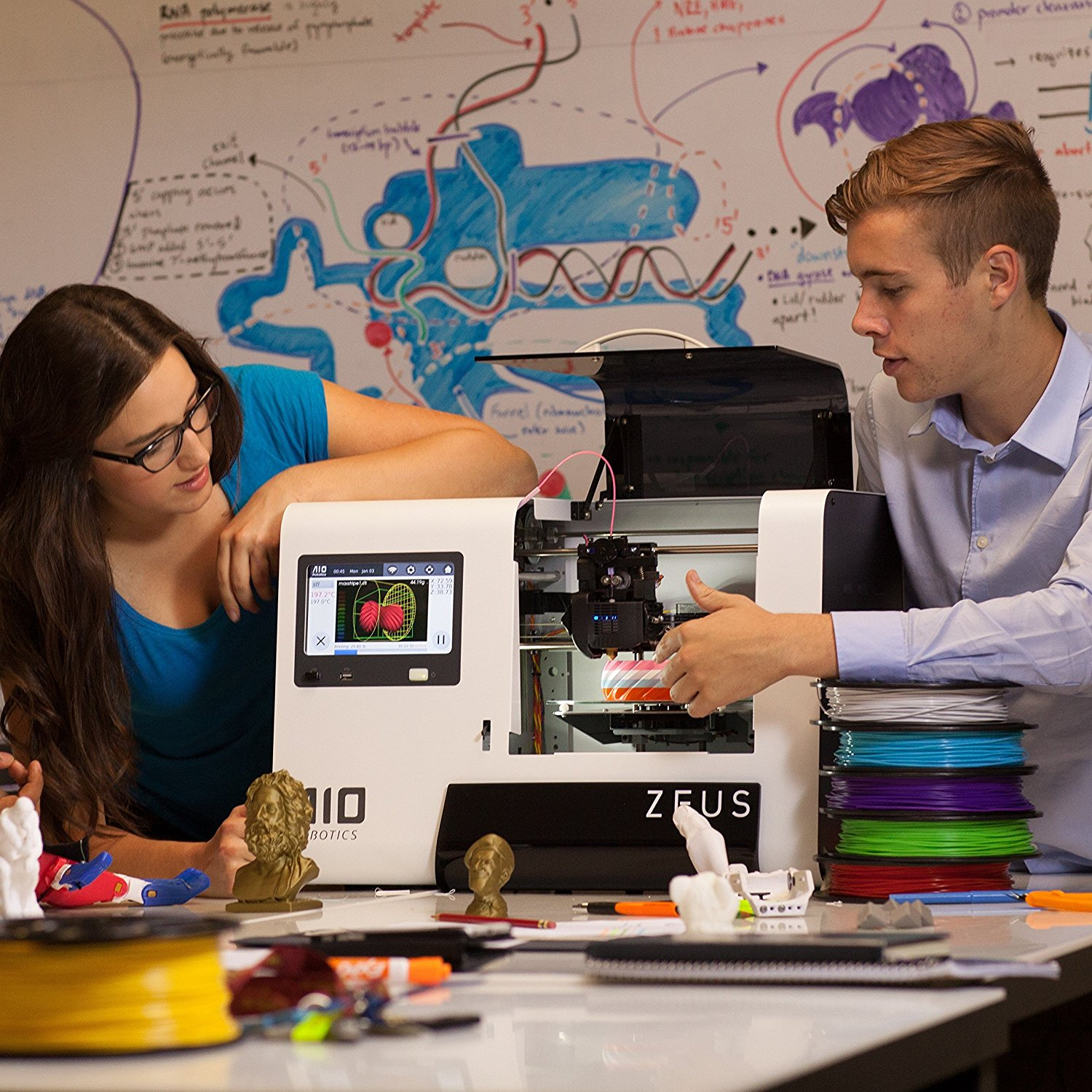 The typical idyllic 3D printing promotional image from AIO Robotics. The thing is, these machines really are incredible creative and functional tools in the right hands. I'm a fan and participant in this (slow) revolution.