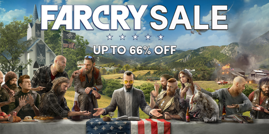 The Far Cry series Sale – Up to 66% off amazing Steam games!