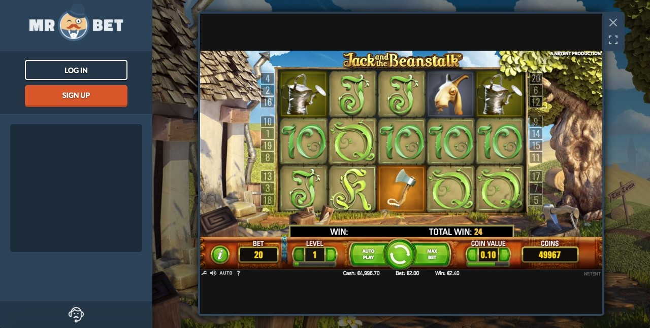New Online Casino Slots Games at Mr Bet
