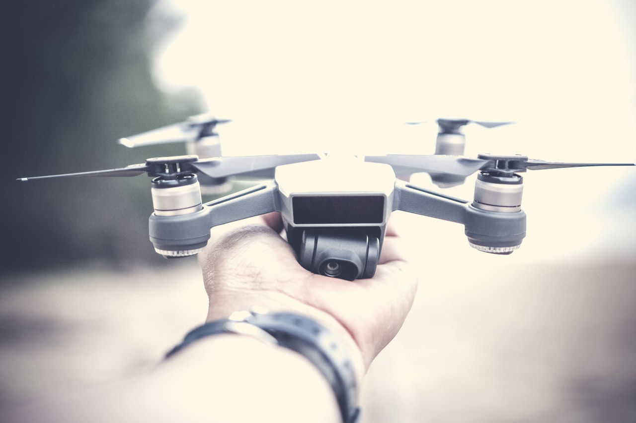 Drones come in all styles and sizes.