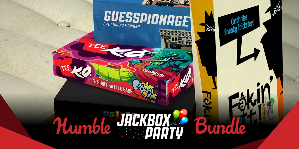 Pay what you want for The Humble Jackbox Party Bundle – Great Steam party games!