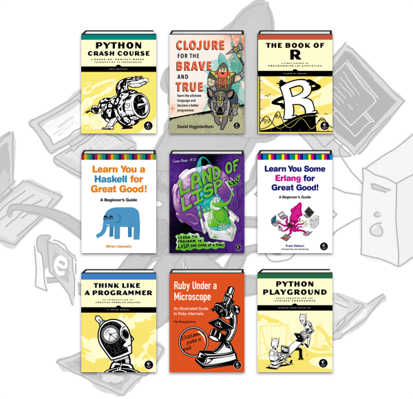 The Humble Book Bundle: Learn You Some Code by No Starch Press
