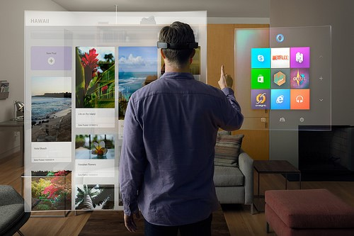 """""""win10_HoloLens_livingRoom"""" (CC BY 2.0) by Microsoft Sweden"""