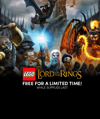 LEGO Lord of the Rings for free!