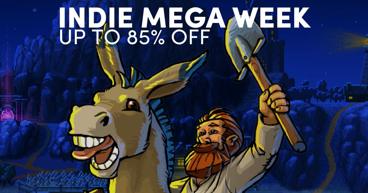 Indie Mega Week sale