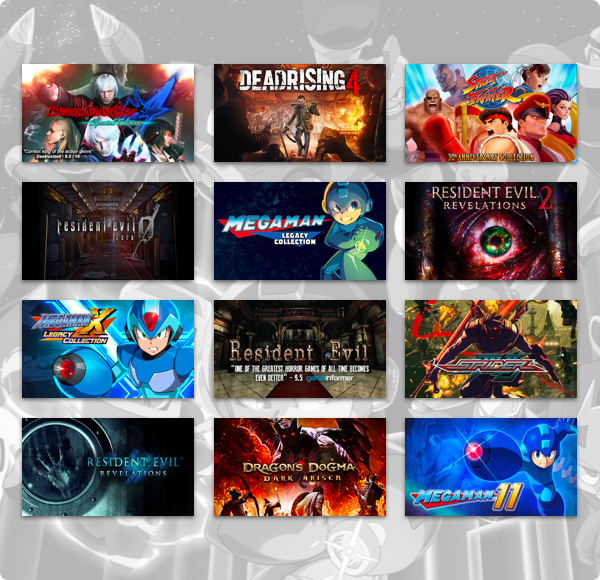 Capcom Mega Bundle