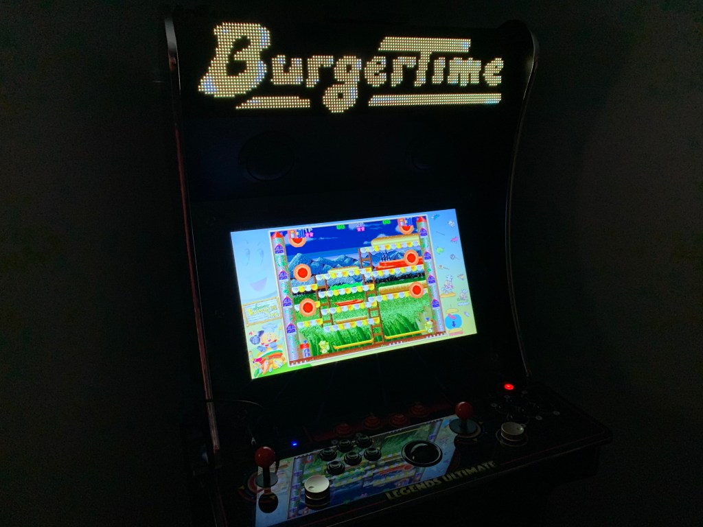 Super BurgerTime on the Legends Ultimate and Pixelcade