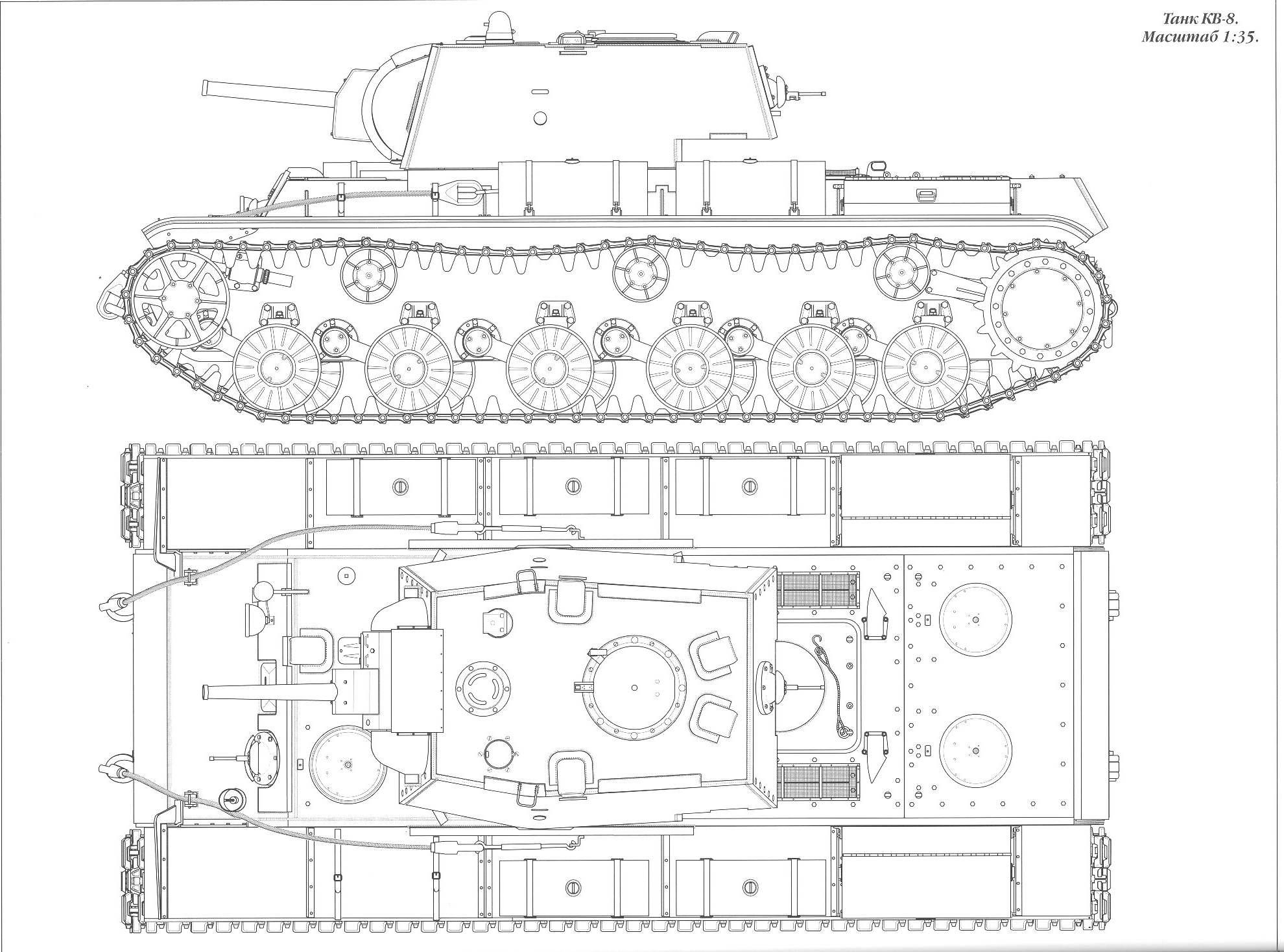 Kv 8 And Kv 8s Flamethrower Tanks