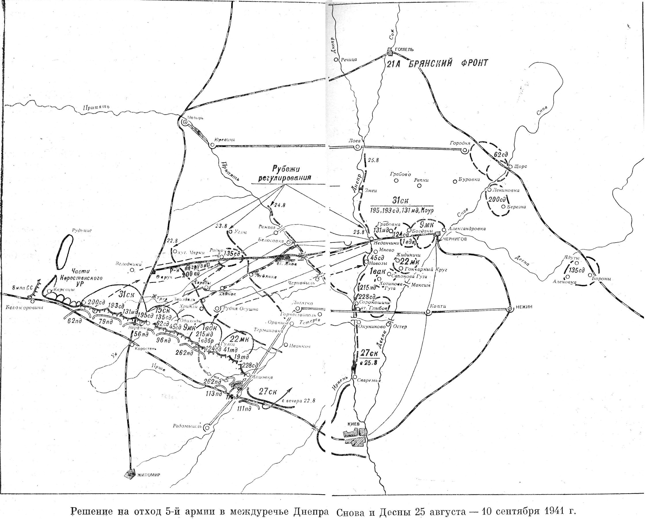 Sw4127 decision on the retreat of the 5th army