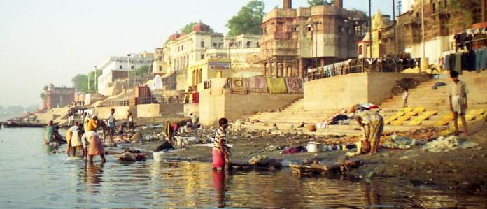 Ganges and pollution
