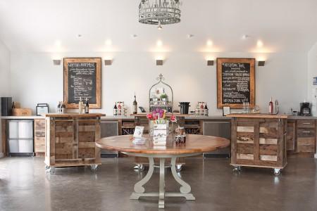 Tasting Room (photo courtesy of Stinson Vineyards).
