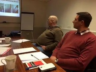 Attendees at one of the Asbestos Awareness Training courses at Armco Asbestos in Bury
