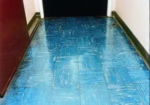 how to recognise asbestos - floor tiles