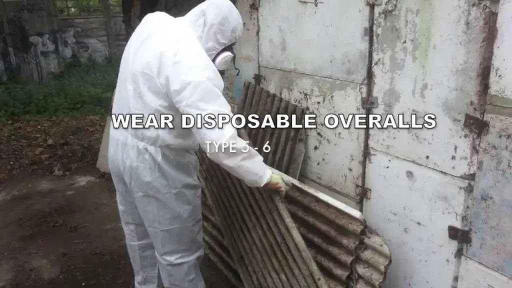 asbestos cement roof sheets removal
