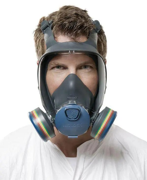 It's essential that a face fit test is performed on your respirator to ensure a correct fit