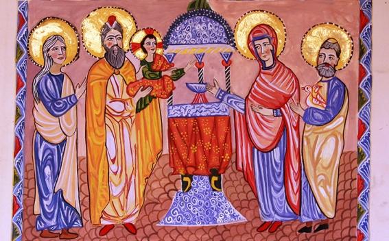 Տեառնընդառաջ: Տոն քառասնօրյա Գալստեանն Քրիստոսի ի Տաճարն