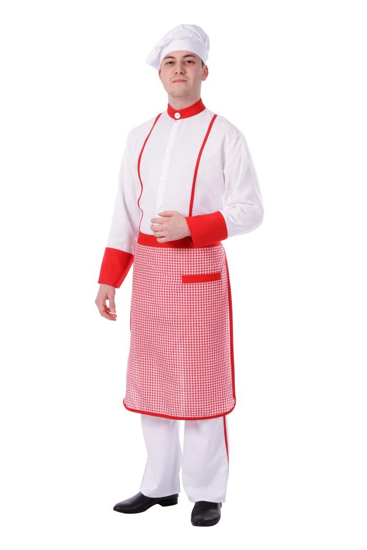 aşçı kostümü yetişkin