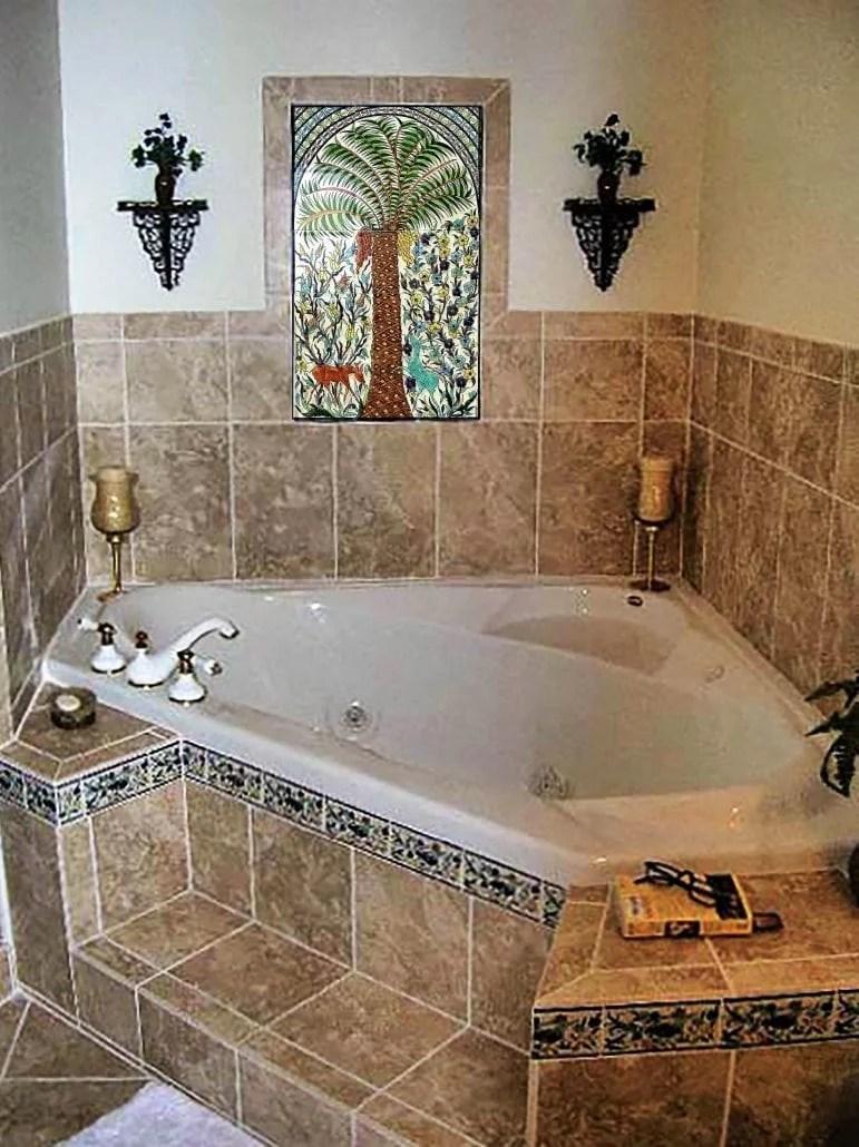 Bathroom Tile Design Ideas & Tile Murals - Balian Tile Studio on Bathroom Tile Designs  id=97330