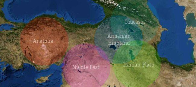 Bilderesultat for armenian highlands