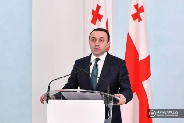 "Georgian Prime Minister offers ""Tbilisi platform"" for Armenia-Azerbaijan talks"