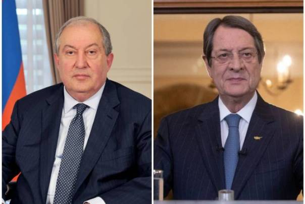 Armenian President congratulates Cypriot counterpart on 75th birthday, hopes bilateral  partnership will further deepen