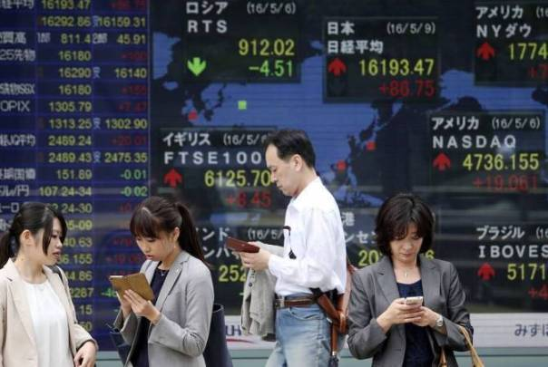 Asian Stocks down - 27-09-21