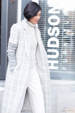 Gary Pepper- Nicole Warne Street style at New York Fashion Week FW 2015 by Armenyl.com